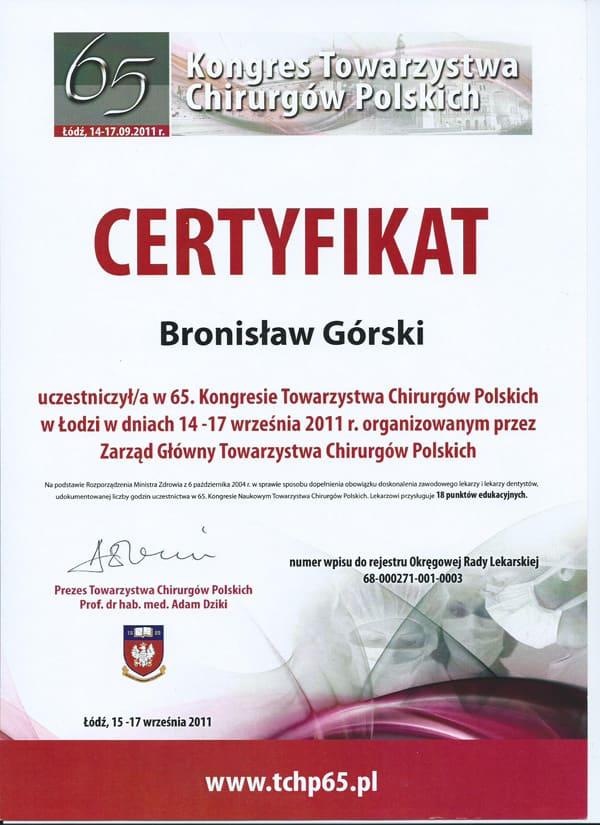 Kongres towarzystwa chirurgów polskich