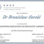 Certyfikat EAES